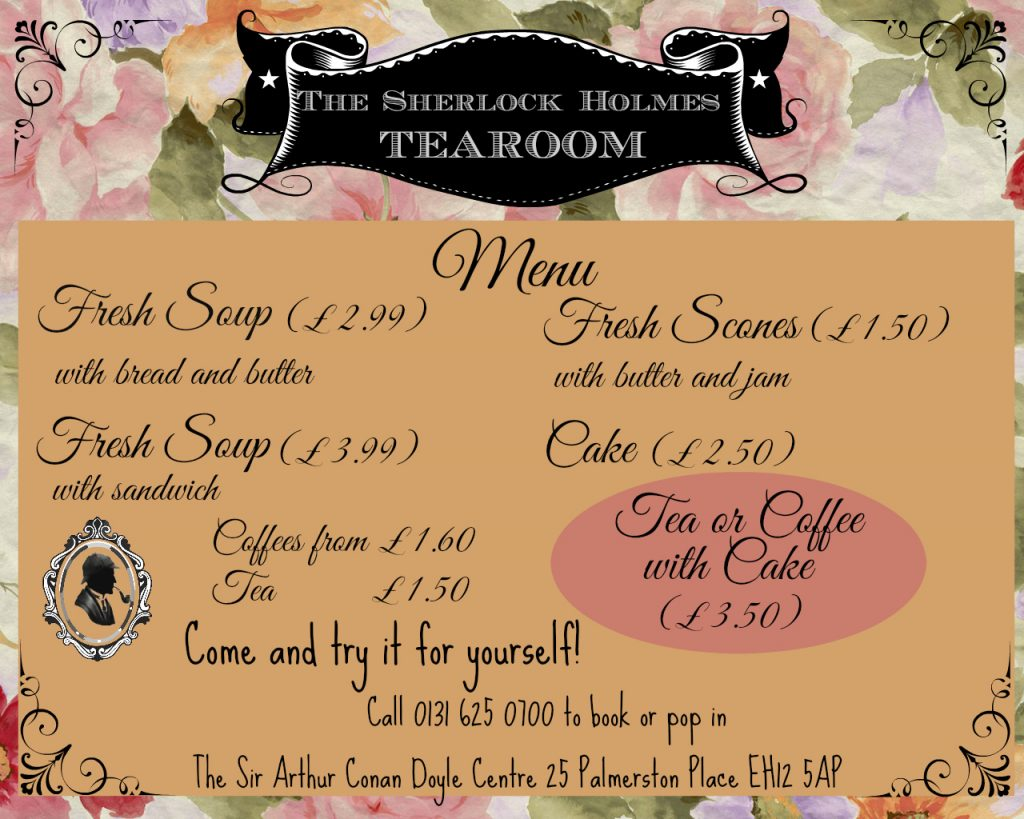 Tearoom Flyer Prices