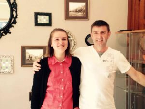 Our two new employees: Robert & Laure-Anne