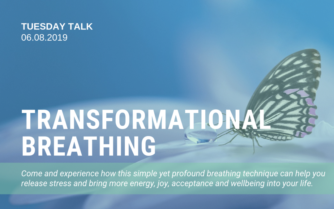 Tuesday Talk: Transformational Breathing