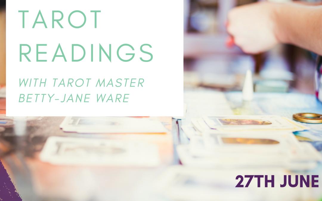 Tarot Readings with Betty-Jane Ware