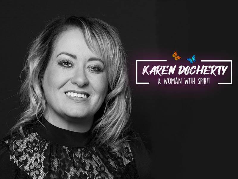 Karen Docherty: Demonstration of Mediumship