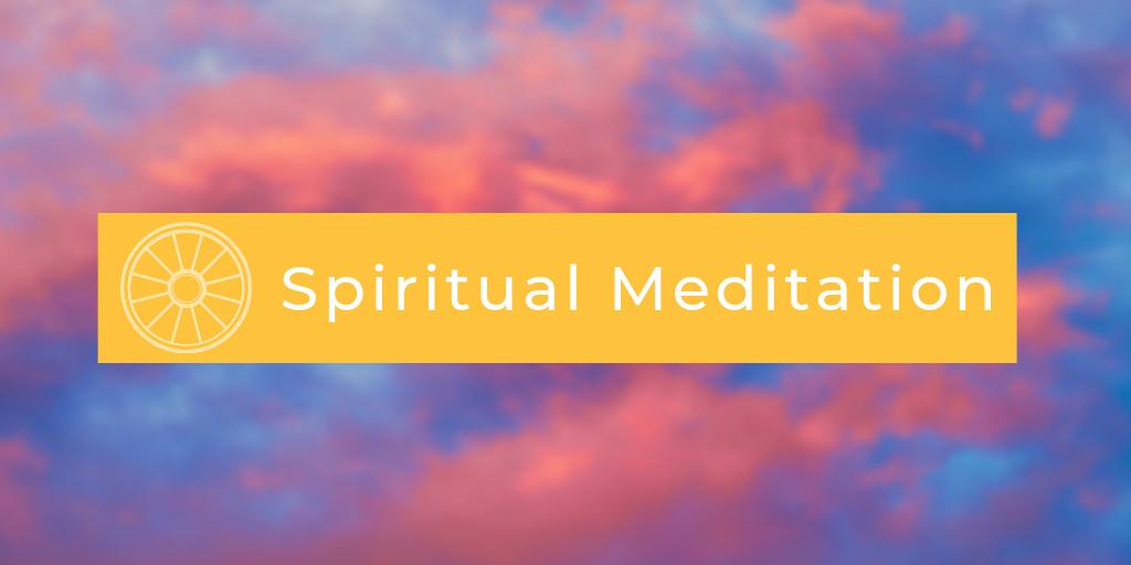 Spiritual Meditation with Fredrik Haglund
