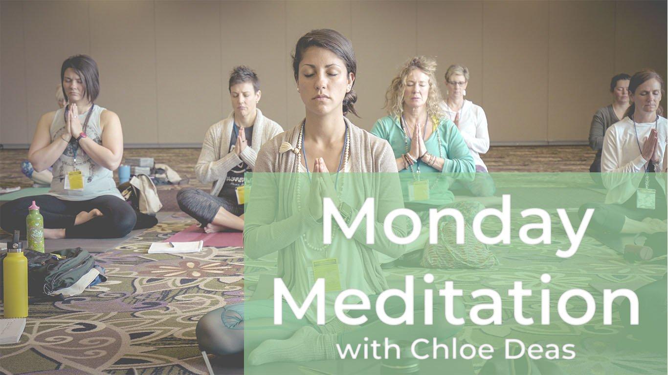 Monday Meditation Header