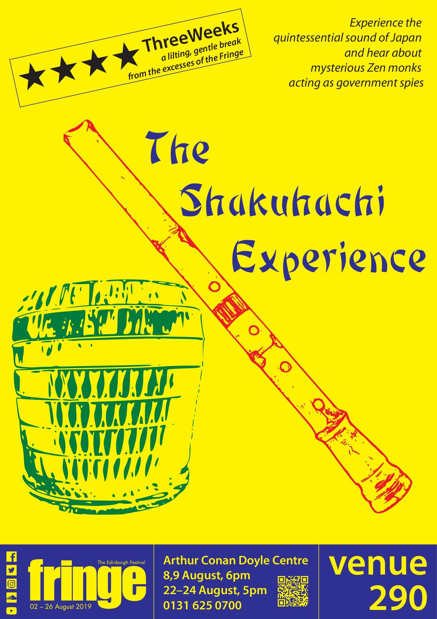 Fringe Show: The Shakuhachi Experience