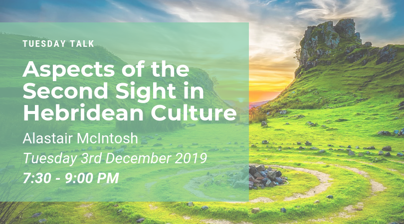 Tuesday Talk – Aspects of the Second Sight in Hebridean Culture