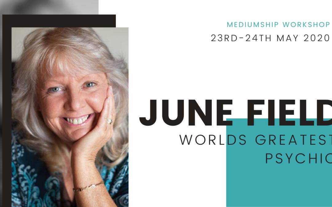 Mediumship Workshop with International Psychic June Field