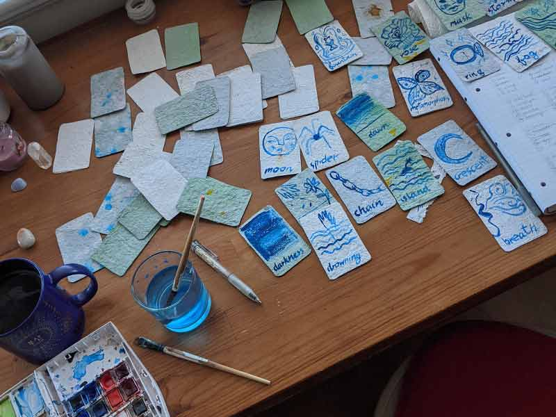 Make Your Own Paper and Oracle Cards