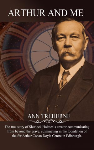 Arthur and Me is the book which tells the true story of the founding of the Sir Arthur Conan Doyle Centre