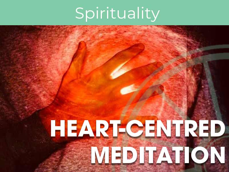 Chloe Deas runs heart-centred meditation at the SIr Arthur Conan Doyle Centre every Monday