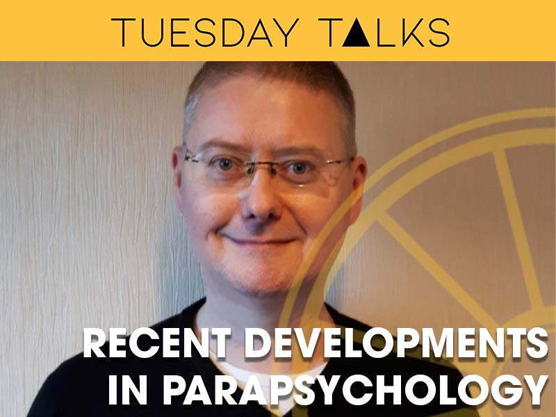 Professor Chris Roe discusses recent developments in parapsychology at the Sir Arthur Conan Doyle Centre