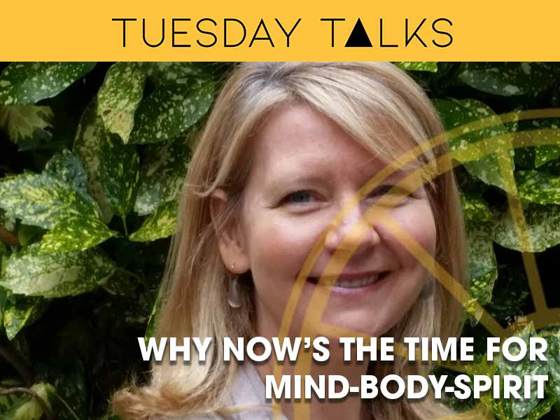 Liza Horan lectures on the current state of the mind-body-spirit movement at the Sir Arthur Conan Doyle Centre