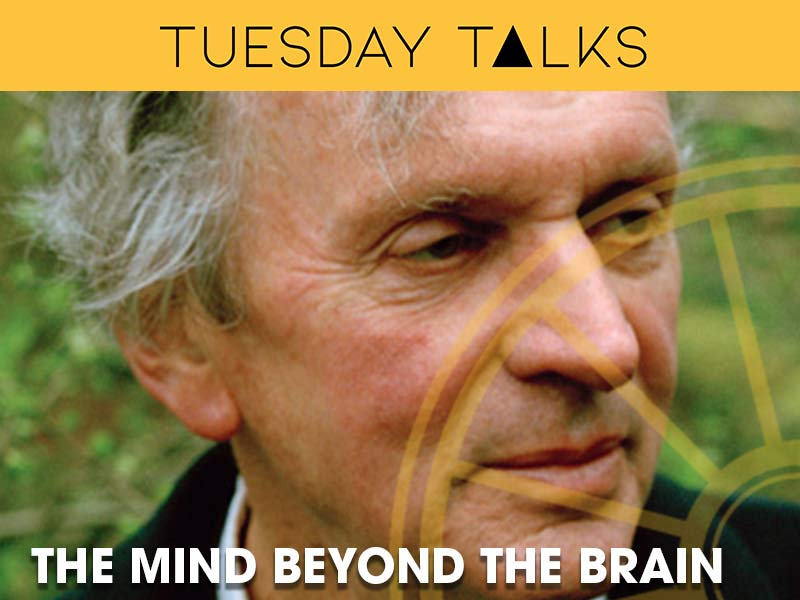 Dr Rupert Sheldrake discusses the mind beyond the brain at the Sir Arthur Conan Doyle Centre