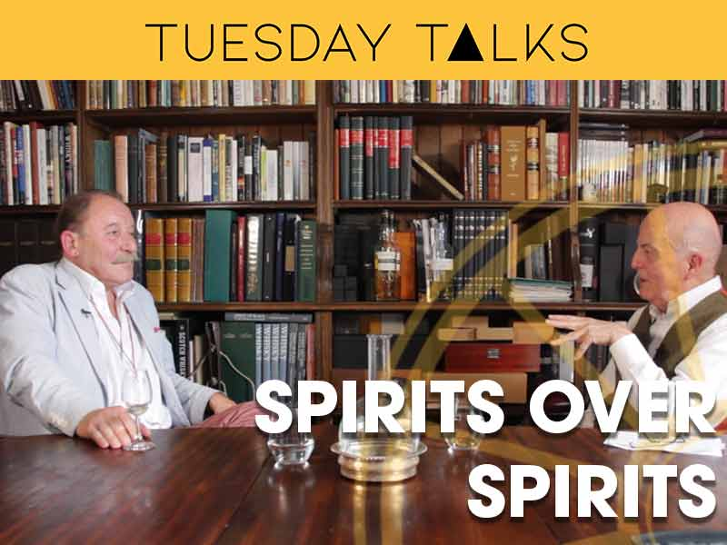Professor Lance Butler and Charlie MacLean: 'Spirits Over Spirits' via ZOOM