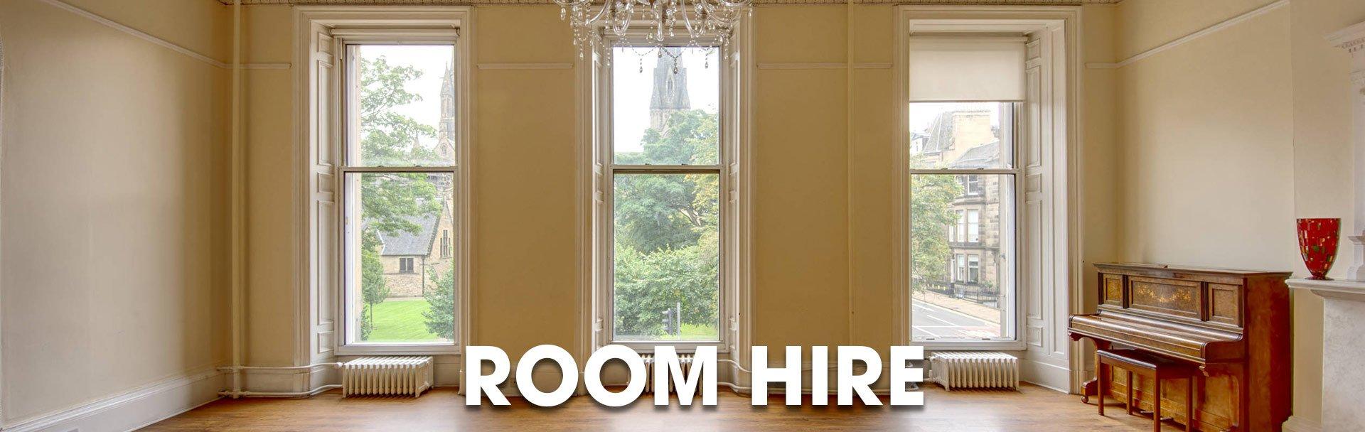 Affordable Room Hire in Edinburgh at the Sir Arthur Conan Doyle Centre