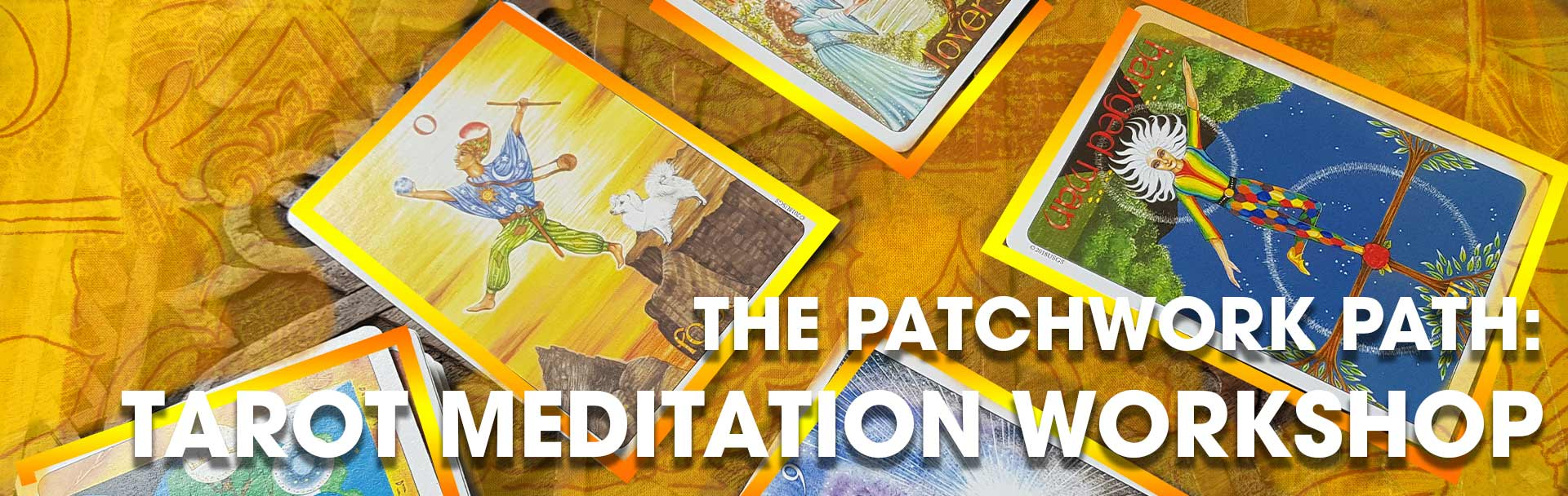 Chloe Deas leads the tarot meditation workshop at the sir arthur conan doyle centre