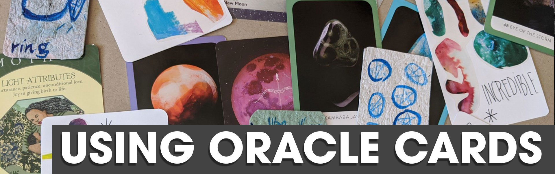 Kat Wojdyla and using oracle cards at the sir arthur conan doyle centre