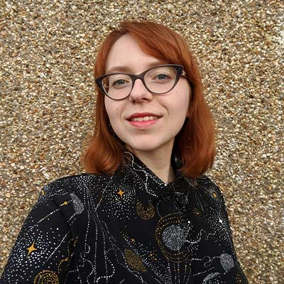 kat wojdyla volunteers and offers astrology readings at the sir arthur conan doyle centre