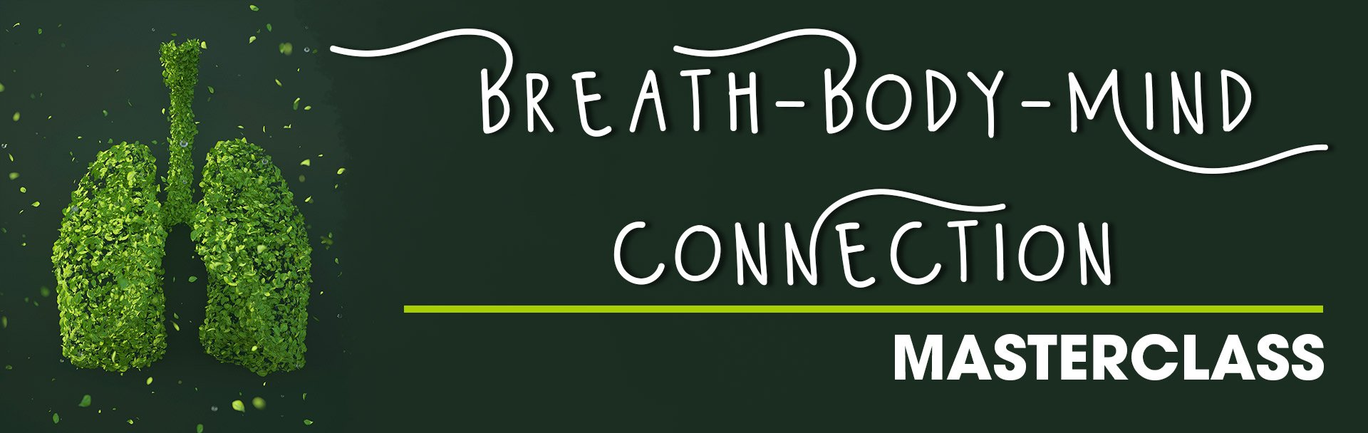 Sophie O'Brien Leads a 4-week Breath masterclass at the Sir Arthur Conan Doyle Centre