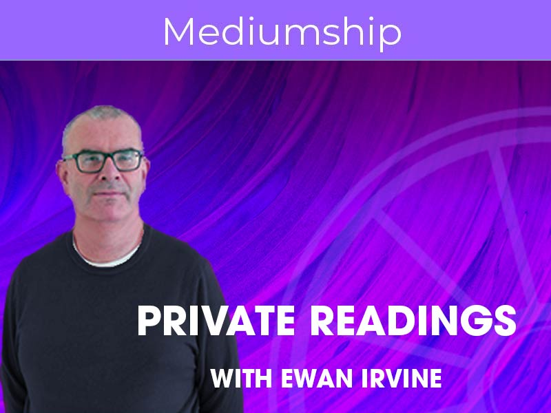 Ewan Irvine offers Spiritual and Psychic Readings at the Sir Arthur Conan Doyle Centre