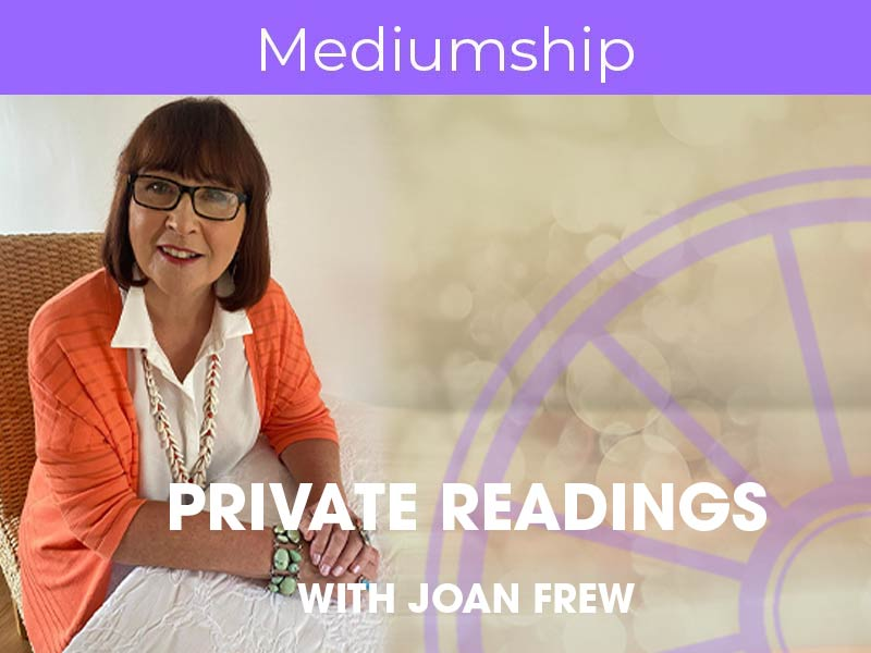 Joan Frew offers private psychic, spiritual, crystal and card readings via the Sir Arthur Conan Doyle Centre
