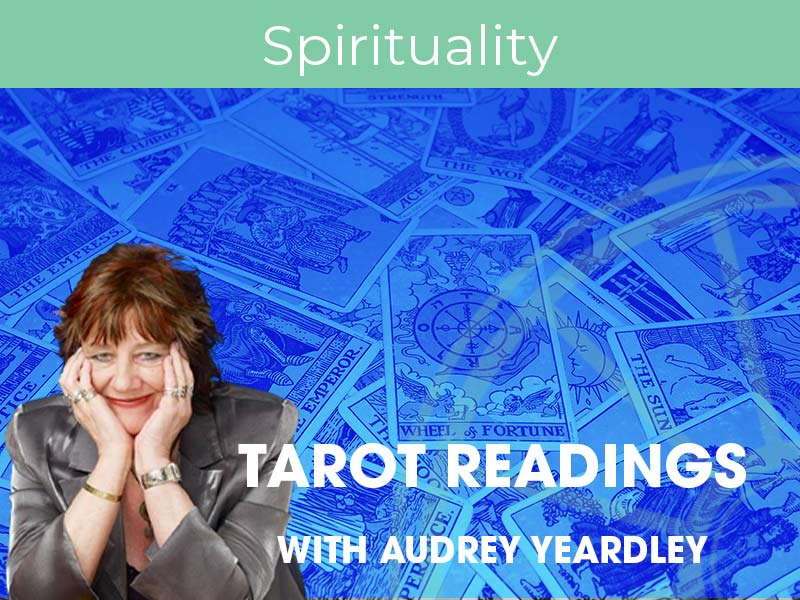 Audrey Yeardley offers Tarot Readings at the SIr Arthur Conan Doyle Centre