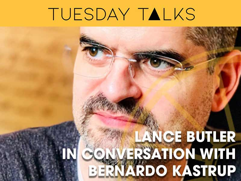 Dr Bernardo Kastrup is interviewd by Lance Butler for the Tuesday Talks programme