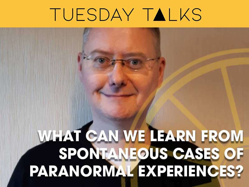 Chris Roe delivers a Tuesday Talk exploring what can be learned from paranormal experiences for the sir arthur conan doyle centre