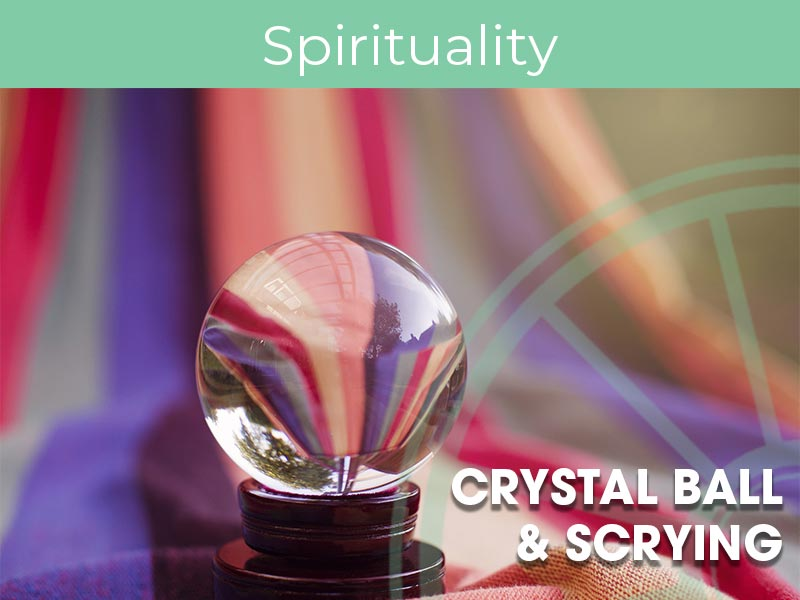 Joan Frew runs a crystal ball and scrying masterclass at the SIr Arthur Conan Doyle Centre