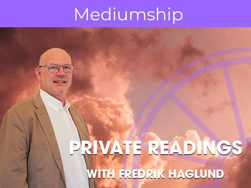Private Reading Fredrik Haglund