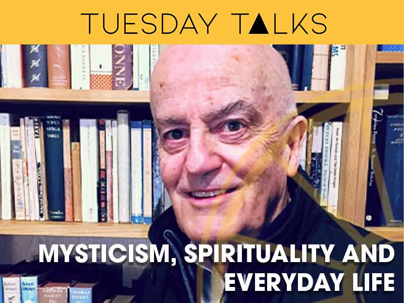 Professor Lance Butler presents a Tuesday Talk about mysticism and spirituality at the Sir Arthur Conan Doyle Centre