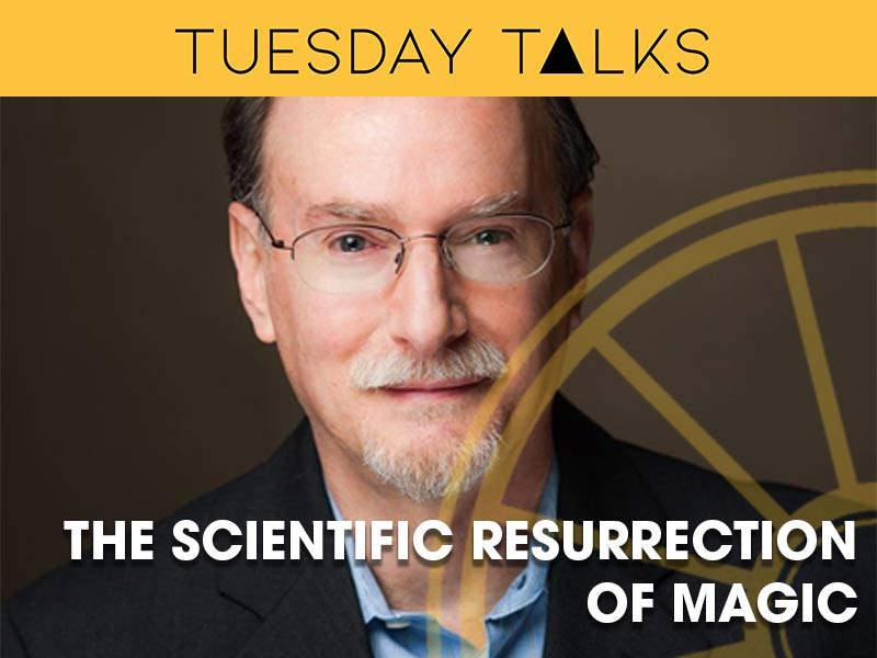 Dr Dean Radin presents a Tuesday Talk on the Scientific Resurrection of Magic for the Sir Arthur Conan Doyle Centre