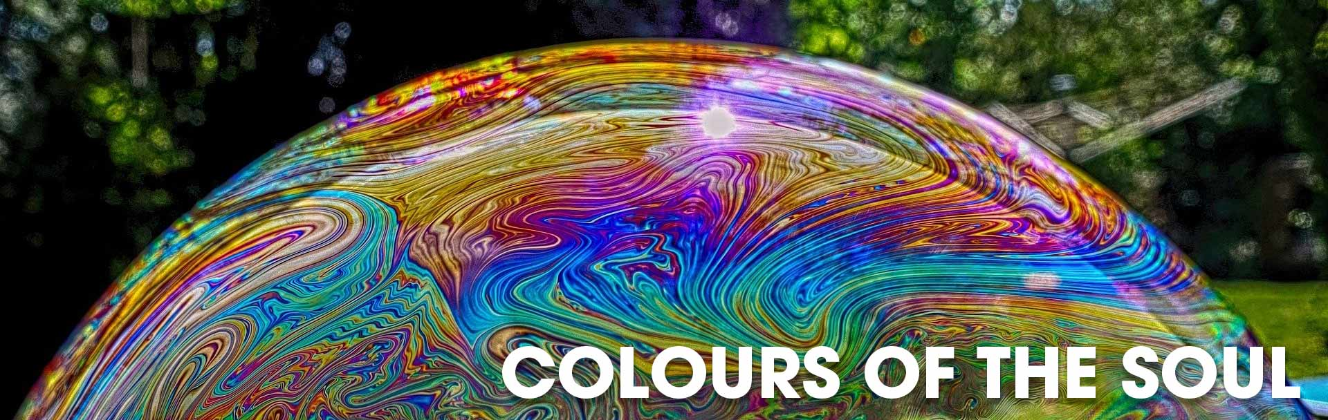 Joan Frew hosts a colours of the soul workshop every month at The Sir Arthur Conan Doyle Centre