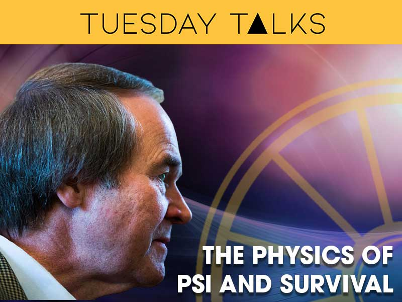 'The Physics of Psi and Survival' | Professor Bernard Carr