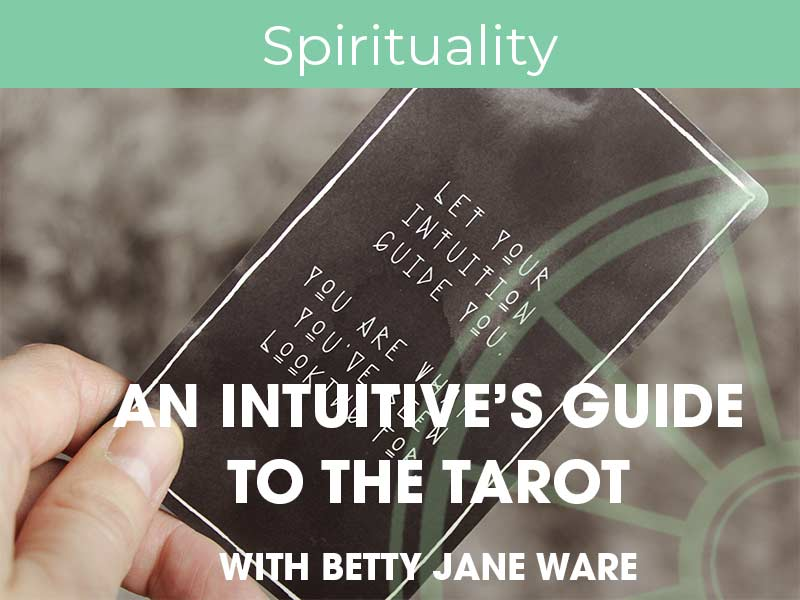 Betty Jane Ware Runs an Intuitive Tarot Workshop for the Sir Arthur Conan Doyle Centre