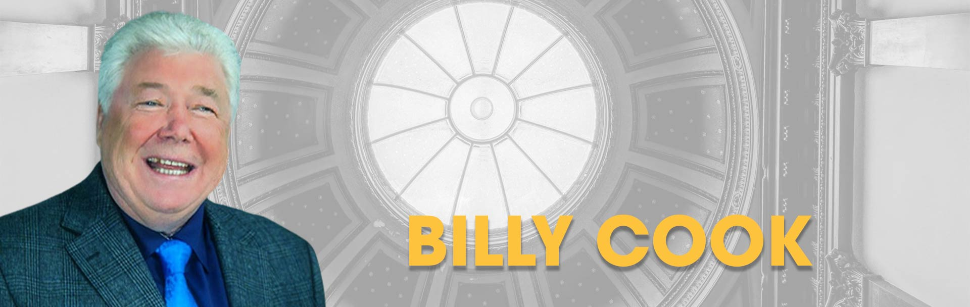 Billy Cook is part of Saturday Night Demonstrations of Mediumship at the Sir Arthur Conan Doyle Centre