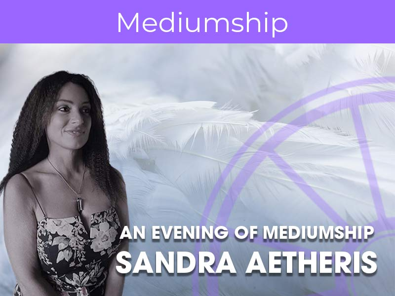 Sandra Aetheris gives an evening of mediumship at the sir arthur conan doyle centre in edinburgh