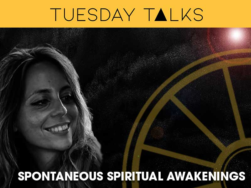 Jessica Cornielle Presents a Tueday Talk on SPntaneous Spiritual Awakening for the sir arthur conan doyl centre