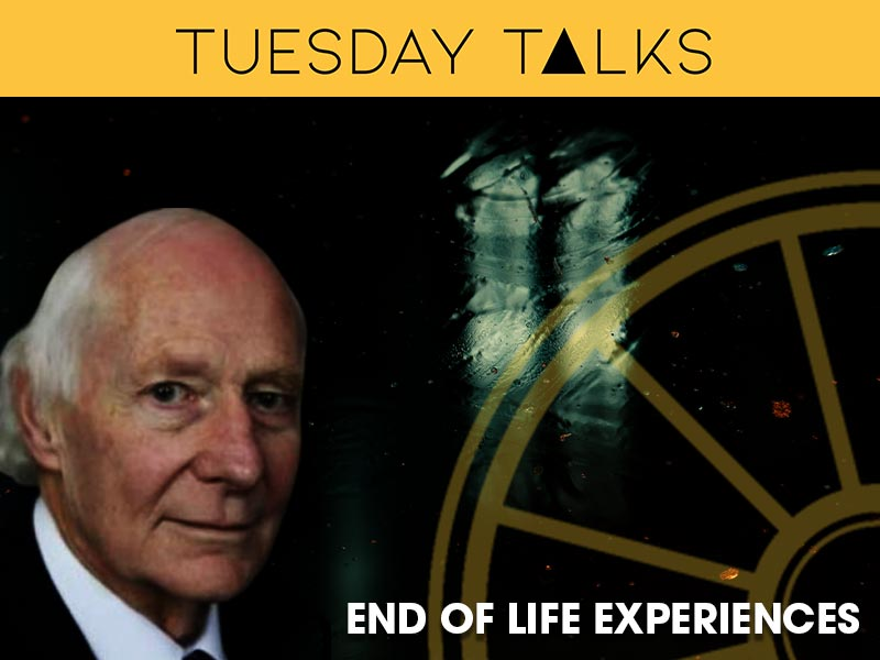Peter Fenwick discusses end of life experiences for a Tuesday Talk at the Sir Arthur Conan Doyle Centre