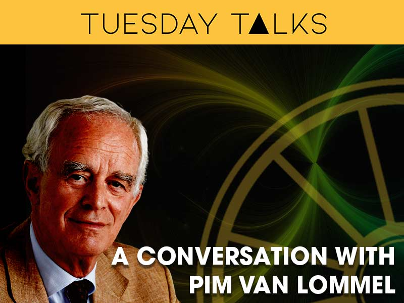 Pim Van Lommel interviewed by Lance Butler for the Tuesday Talks programme