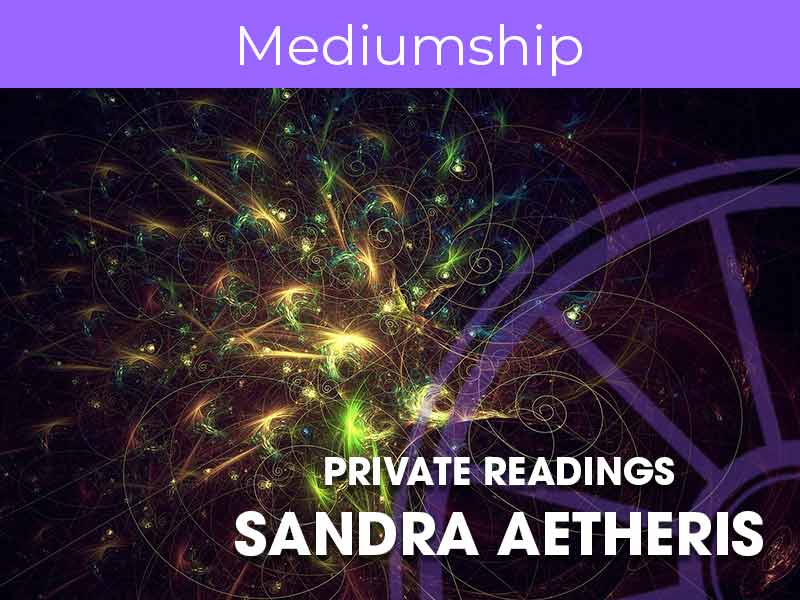 Sandra Aetheris provides private readings at the sir arthur conan doyle centre in edinburgh