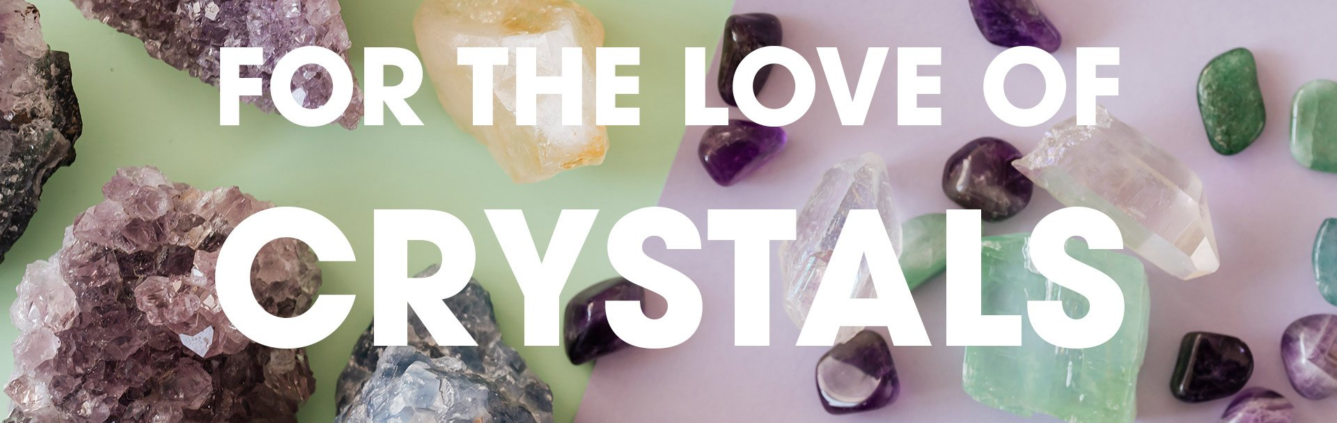 For the Love of Crystals Workshop with Joan Frew
