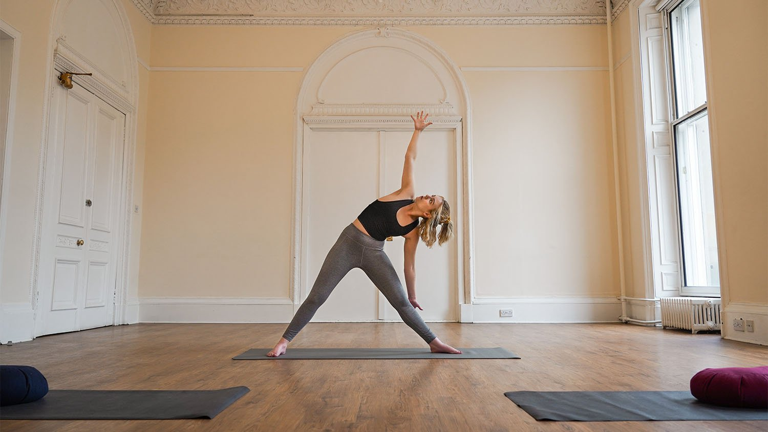 Yoga Open Day with SOphie OBrien at the Sir Arthur Conan Doyle Centre