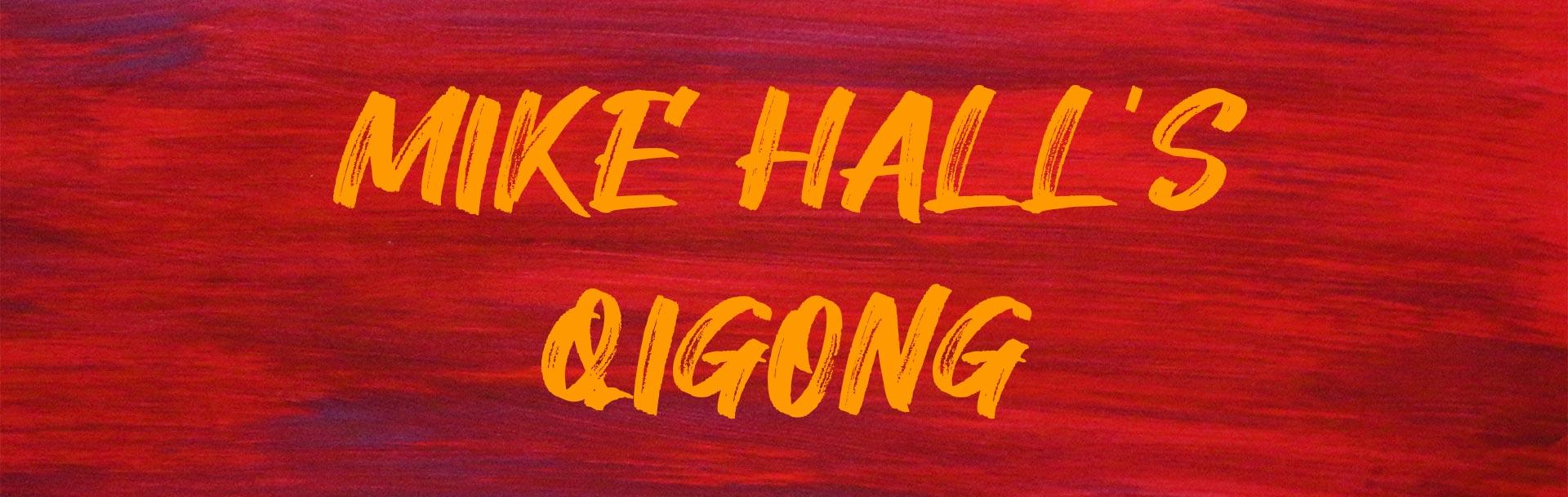 mike hall leads a qigong class at the sir arthur conan doyle centre