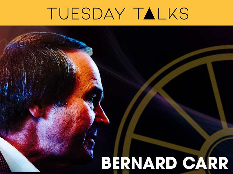Bernard Carr presents a Tuesday Talk on the Nature of Survival
